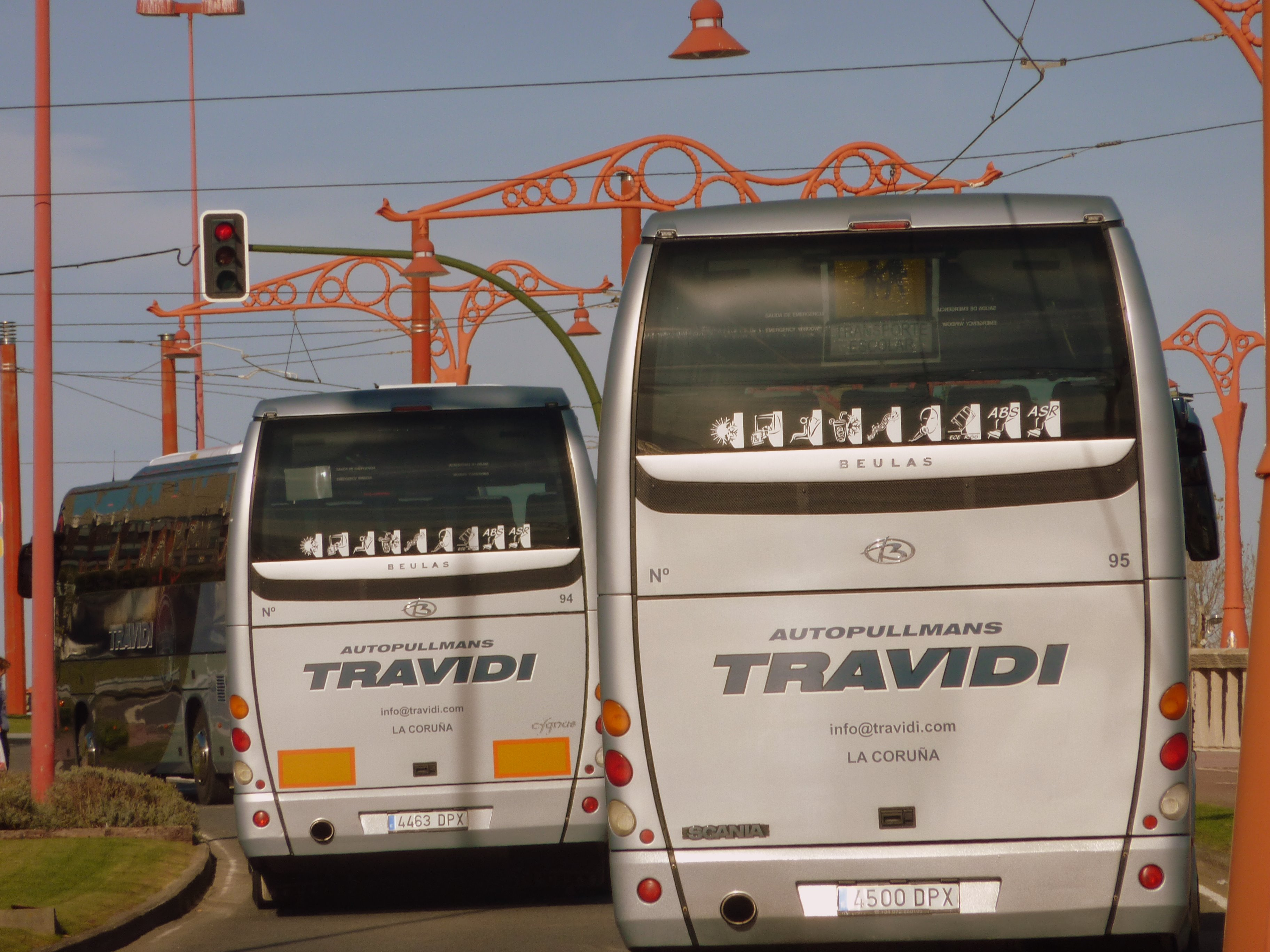 autobús bus autocar coruña